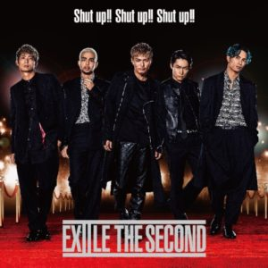 EXILE THE SECOND シングル「Shut up!! Shut up!! Shut up!!」CDのみジャケ写