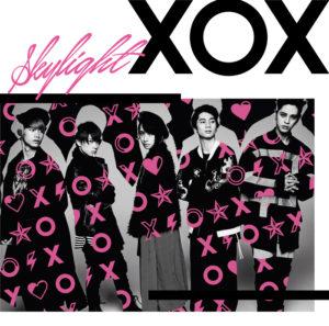 XOX 3rd SINGLE「Skylight」【初回盤(B) CD】ジャケ写