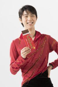 ガーナミルクチョコレート 新CM「真っ赤って、ときめき。羽生結弦スケート」篇より