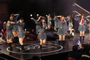 "「HKT48 5th Anniversary~39時間ぶっ通し祭り!みんな""サンキューったい!""~」より ©AKS"