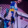 「DAW女SSW」小南千明が魅せた! 日本初上陸のポップカルチャーの祭典 「東京コミコン」を沸かせたアンティーク着物ライブ!